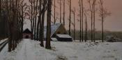 Hijink in sneeuwlandschap